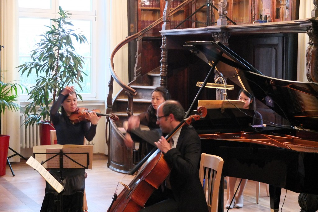 Ravel-Klaviertrio im April 2013
