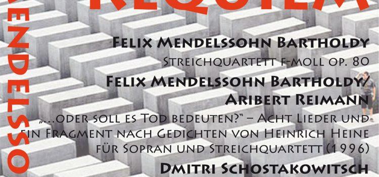 Morgen 3. Juni: Mendelssohn III – Requiem, AUSVERKAUFT