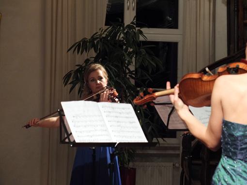 Katarzyna Woznica, Violine