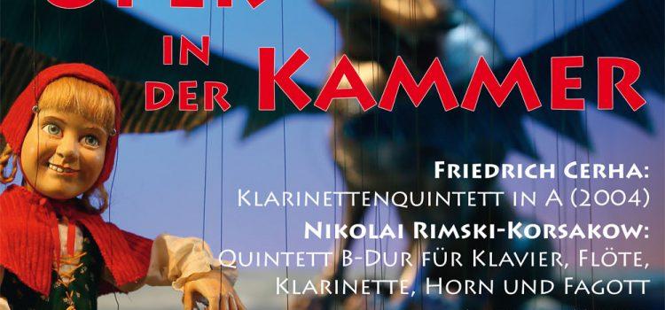 Oper in der Kammer, 19. Mai 2019, 18 Uhr