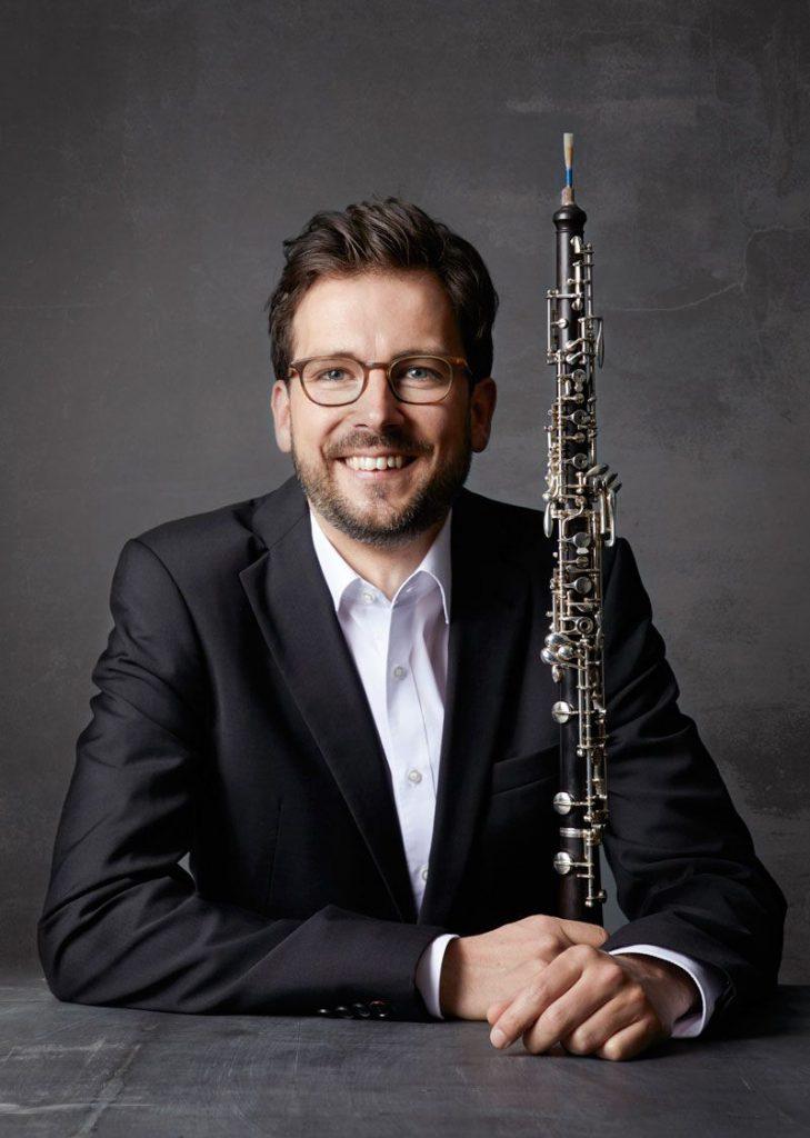 José Luís García Vegara, Oboe
