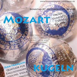Mozartkugeln 27. Oktober 2019: Ausverkauft!