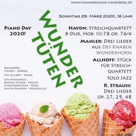 """Konzert """"Wundertüten"""" 29. März 2020 leider ABGESAGT"""