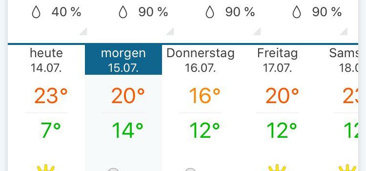 Sommer-Soirée Zwei – VERLEGT AUF FREITAG 17. JULI