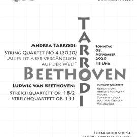 8. November: Beethoven – Tarrodi // ABGESAGT