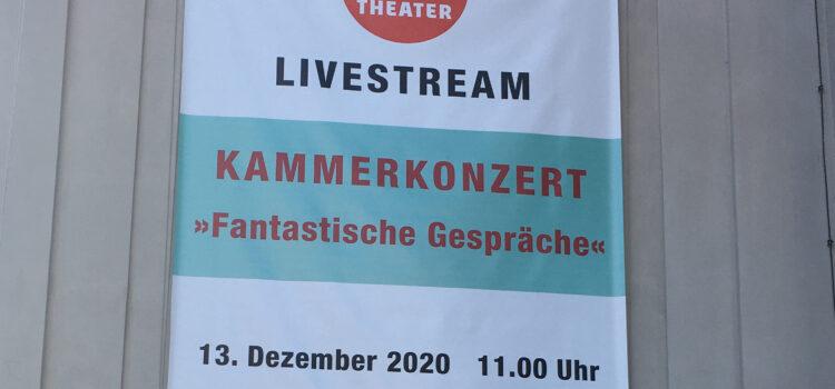 Livestream aus dem Gärtnerplatztheater, Sonntag 13. Dezember 11 Uhr